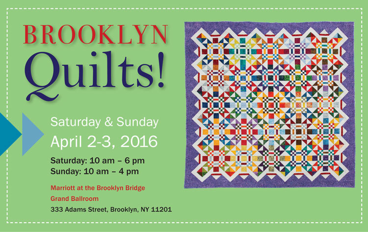 Brroklyn, here we come - quilt show